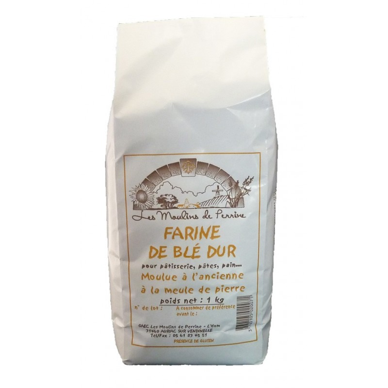 Farine de blé dur en 1 kg