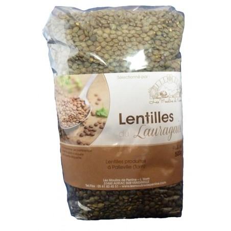 Lentilles du Lauragais 500 g