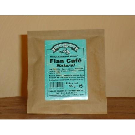 Flan café