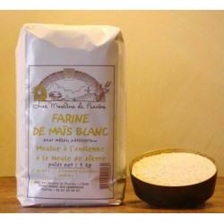 Farine de maïs blanc en 1 kg