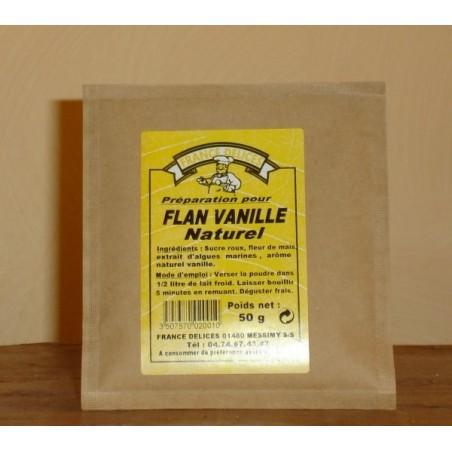 Flan vanille