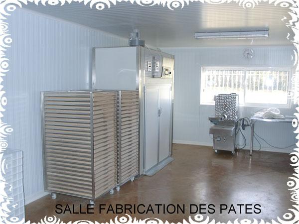 Salle des pâtes les moulins de perrine